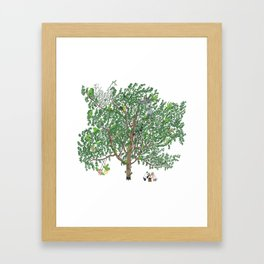 BB&PPINC Tree Print Framed Art Print