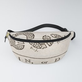 Join or Die Eight Colonies Fanny Pack