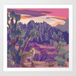 Castle Mountains National Monument Refuge Art Print