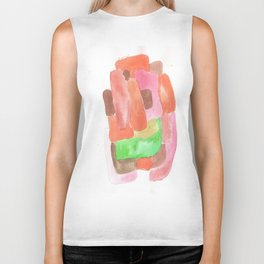 171013 Invaded Space 10 |abstract shapes art design |abstract shapes art design colour Biker Tank