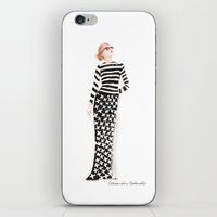 marc jacobs iPhone & iPod Skins featuring Marc Jacobs by Alexandra Schorndorf
