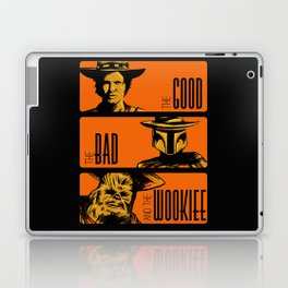 The Good, the bad and the wookiee Laptop & iPad Skin