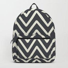 Chevron Wave Asphalt Backpack