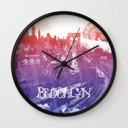 BrooklynToNY Wall Clock