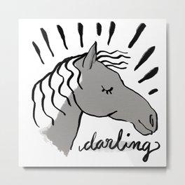 Darling Metal Print
