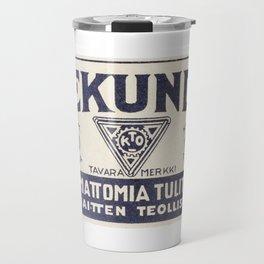Old Matchbox label #1 Travel Mug