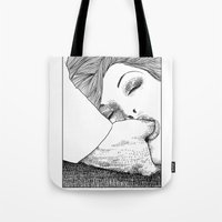 apollonia Tote Bags featuring asc 28 - L'invitation by From Apollonia with Love