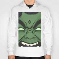 hulk Hoodies featuring Hulk by illustrationsbynina
