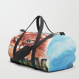 Cat on the fence Duffle Bag