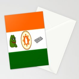 The peoples republic of kekistan Stationery Cards