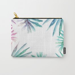 Watercolor botanical leaves Carry-All Pouch
