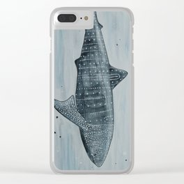 Whale Shark Clear iPhone Case