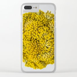curry flowers II Clear iPhone Case