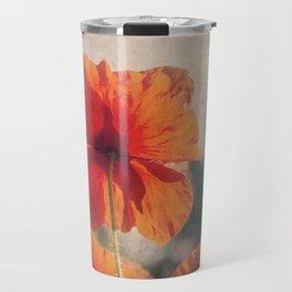 Red Poppies, Flowers Travel Mug