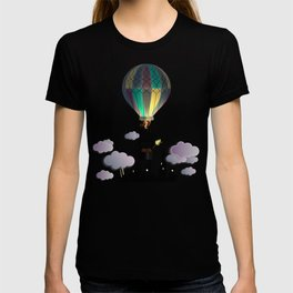 Balloon Aeronautics Night T-shirt