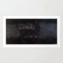 Cosmic Kitteh Art Print