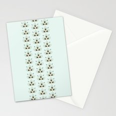 Mint Blossoms Stationery Cards