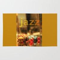 jazz Area & Throw Rugs featuring Jazz ! by teddynash