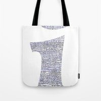 physics Tote Bags featuring i - Physics Rosetta Stone [T-Shirts / Hoodies / Tote Bags] by Design Gregory