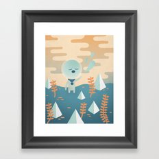 Space Traveler Framed Art Print