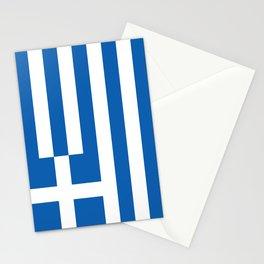 Flag of Greece Greek Stationery Cards