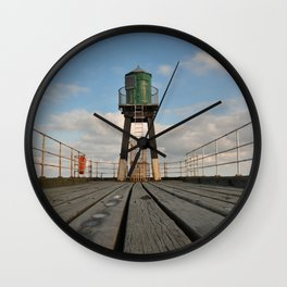Whitby pier Wall Clock