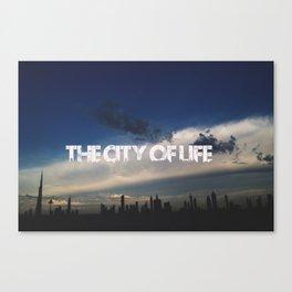 The city of life // #DubaiSeries Canvas Print