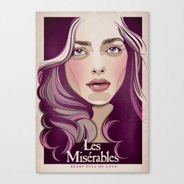 Cosette Canvas Print