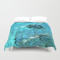voyage Duvet Covers featuring Voyage by Paul Kimble