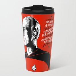 "TNG Valentine - ""My Love Is A Fever"" Travel Mug"