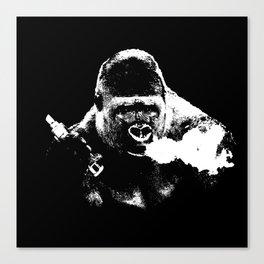 Gorilla Vape Canvas Print