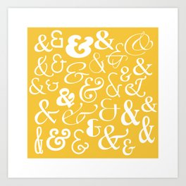 We Are Ampersands Art Print