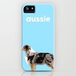 #Australian Shepherd #2 iPhone Case