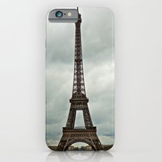 Eiffel Tower on a Cloudy Day iPhone 6s Slim Case