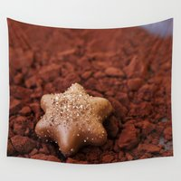 chocolate Wall Tapestries featuring Chocolate by LebensART Photography