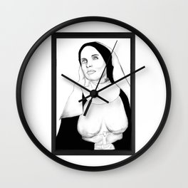 Mother Marry Ectasy Wall Clock