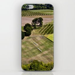 French GREEN Summer Field iPhone Skin