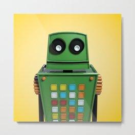 Tyler the robot. Metal Print