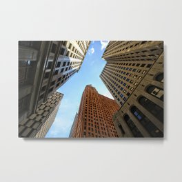 Cathedral of Finance Metal Print