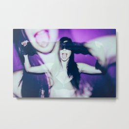 let's lick each other Metal Print