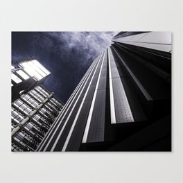 Urban Chrome Structure Canvas Print