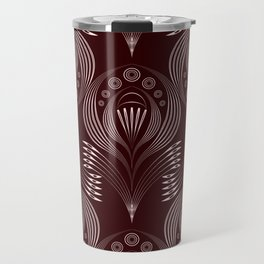 Brown decor Travel Mug