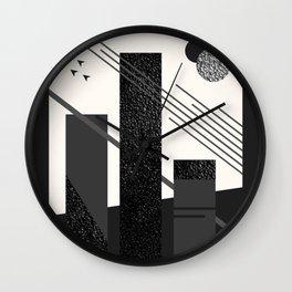 Turret Wall Clock