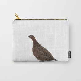 red grouse walking Carry-All Pouch