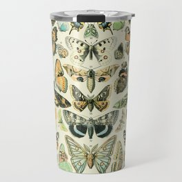 Vintage Butterfly Diagram // Papillions by Adolphe Millot 19th Century Science Textbook Artwork Travel Mug