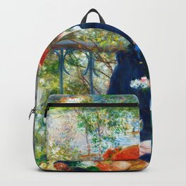 Pierre-Auguste Renoir - Two Sisters, On The Terrace - Digital Remastered Edition Backpack