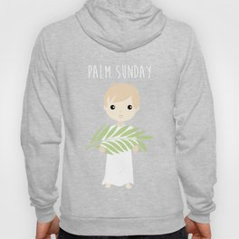 Palm Sunday Boy Angel Hoody
