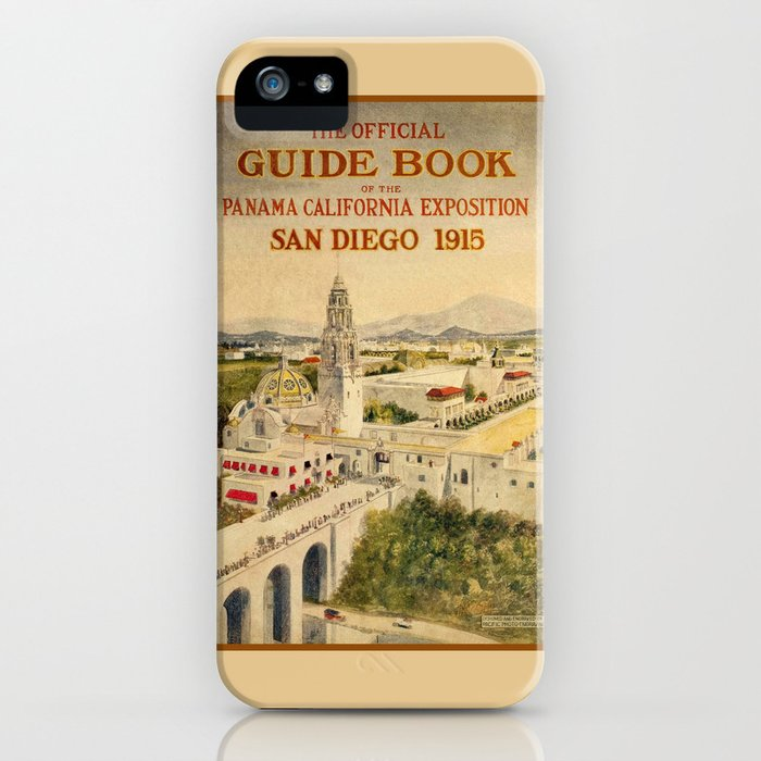 1915 Panama–California Exposition iPhone Case