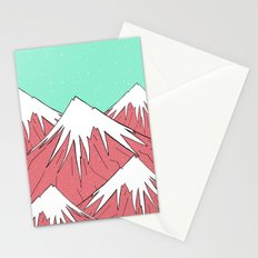 The mountains and the sky Stationery Cards