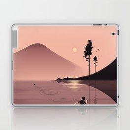 Skimming Stones Laptop & iPad Skin
